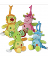 11 '' PULL STRING MUSICAL ANIMALS