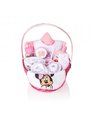 NEW BORN BABY GIRL GIFT BASKET