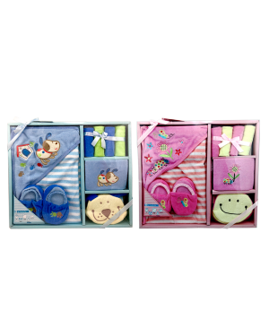 8 PCS BABY BOY OR GIRL GIFT SET 0/6 MONTHS