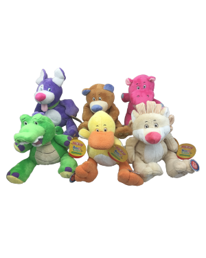 HUGS'N' TICKLES PLUSH ANIMALS