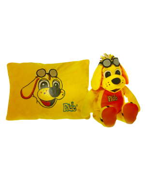19'' PEEK-A-BOO PLUSH(PILLOW OR PLUSH)YELLOW,BLUE OR PINK