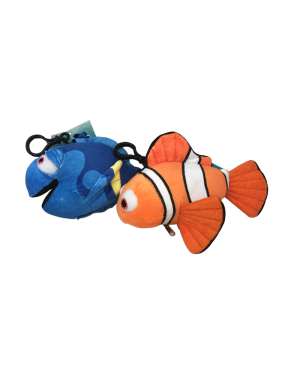 7'' DISNEY CLIP PLUSH DORY OR NEMO