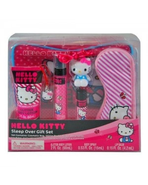 HELLO KITTY SLEEP OVER GIFT SET