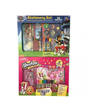 STATIONERY SET PAW PATROL OR SHOPKINS
