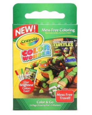 Crayola Color Wonder Teenage Mutant Ninja Turtles Mess Free Travel Kit