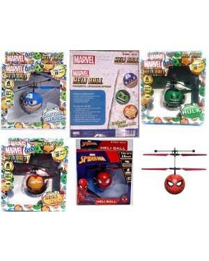 Marvel Avengers Heliball Flying Helicopter Powerful Levitation Sphere