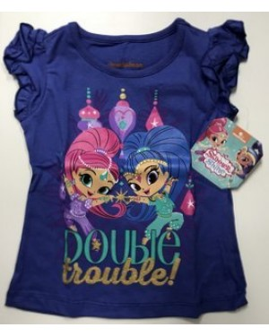 NICKELODEON SHIMMER & SHINE GIRLS T-SHIRT
