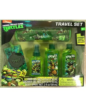 Ninja Turtles Complete Bathing & Beauty Travel Set For Boys (3+ years)