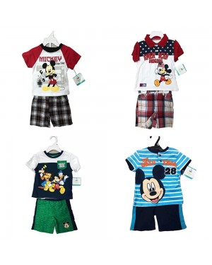 DISNEY MICKEY MOUSE 2 PCS SET 12-24 MONTHS