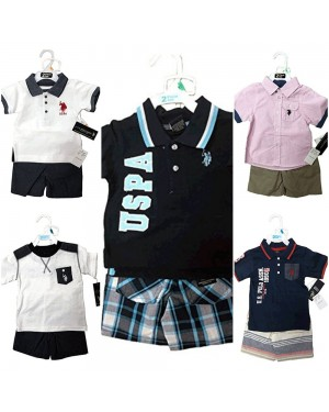 US POLO 2 PIECES BABY SET 12-24 MONTHS