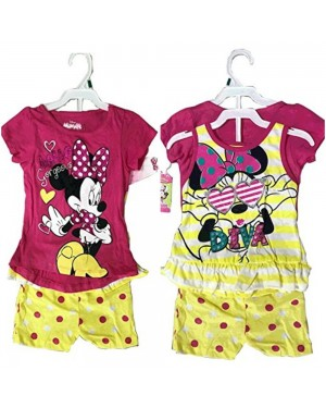 DISNEY MINNIE MOUSE 3 PIECES SET 2T-4T