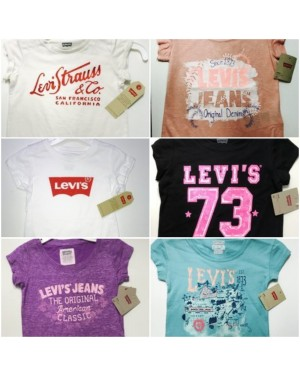 LEVI'S GIRLS TSHIRTS 4-6X YEARS