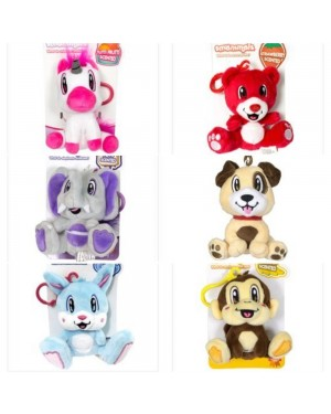 SCENTS ANIMALS PLUSH CLIPS