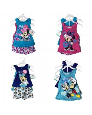 DISNEY MINNIE MOUSE 3 PIECES SET 12-24 MONTHS