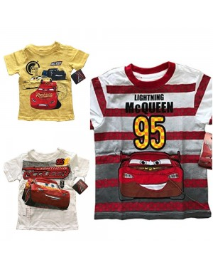 DISNEY CARS 3 BOYS T-SHIRTS