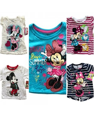 DISNEY MINNIE AND MICKEY KIDS T-SHIRTS