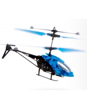 2 Channels Mini Infrared Remote Control Helicopter Glow in the Dark Rechargeable For Boys or Girls