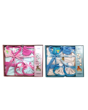 4 PCS BABY BOY OR GIRL BATH GIFT SET 0/6 MONTHS