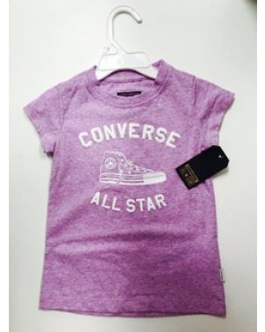 CONVERSE GIRLS TSHIRT 4-7 YEARS