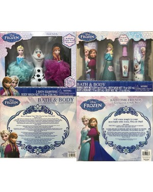 Disney Frozen Body and Bath Time Friends Christmas Gift Set For Girls (3+ years)