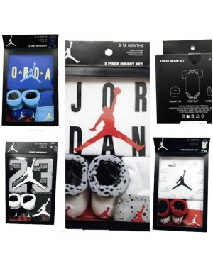 JORDAN NEWBORN BOYS 3 PCS GIFT BOX