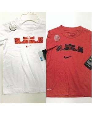 NIKE LEBRON JAMES BOYS TSHIRTS 4-7 YEARS
