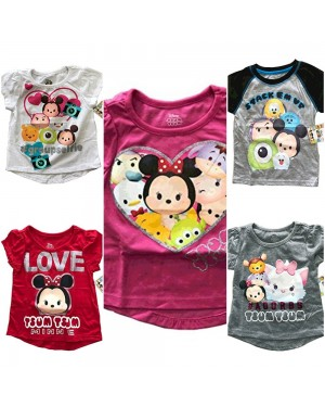 DISNEY TSUM TSUM BOYS AND GIRLS TSHIRTS 2T-4T