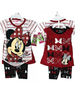 DISNEY MINNIE MOUSE 3 PIECES SET 12 MONTHS-5 T