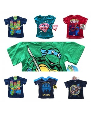 LICENSE SUPER HEROES T-SHIRT