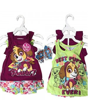 NICKELODEON PAW PATROL GIRL 3 PIECES SET 12-24 MONTHS