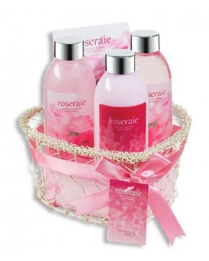 Spa Bath And Body 5 Pieces Gift Set-Roseraie Freida And Joe