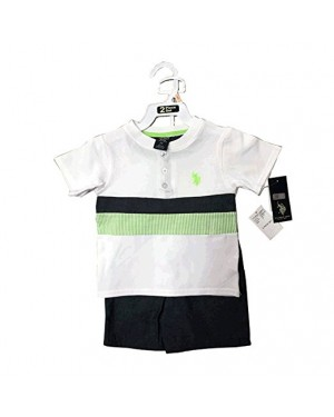 US POLO TODDLER 2 PIECES SET 2T-4T